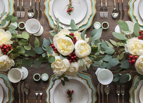 Wedding Reception Table Setting Decoration Ideas 14