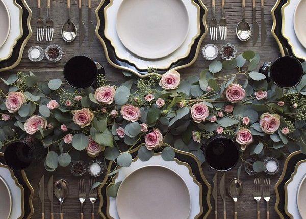 Wedding Reception Table Setting Decoration Ideas 15