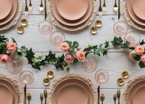 Wedding Reception Table Setting Decoration Ideas 20