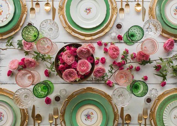 Wedding Reception Table Setting Decoration Ideas 22