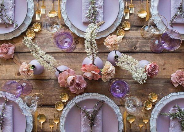 Wedding Reception Table Setting Decoration Ideas 23