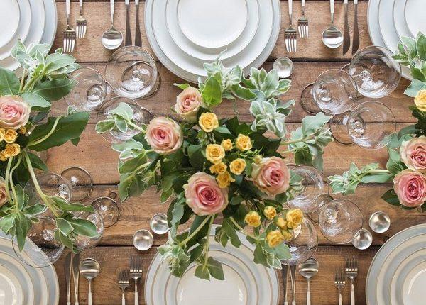 Wedding Reception Table Setting Decoration Ideas 24