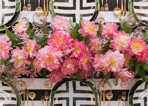 Wedding Reception Table Setting Decoration Ideas 27