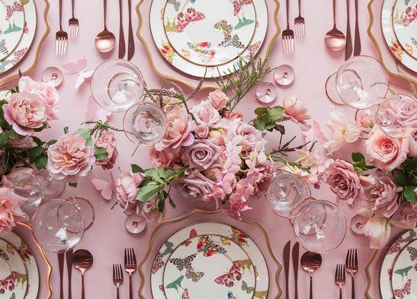Wedding Reception Table Setting Decoration Ideas 28