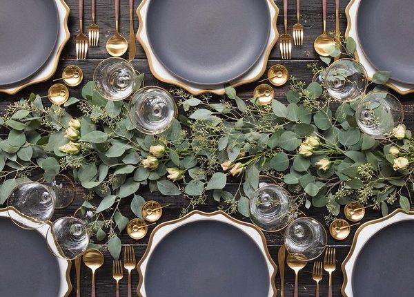 Wedding Reception Table Setting Decoration Ideas 3