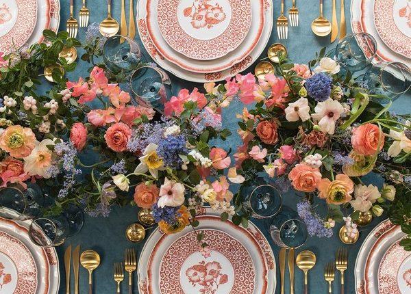 Wedding Reception Table Setting Decoration Ideas 30