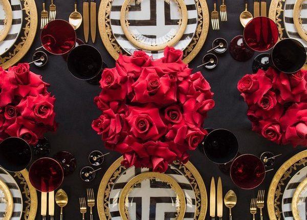 Wedding Reception Table Setting Decoration Ideas 31