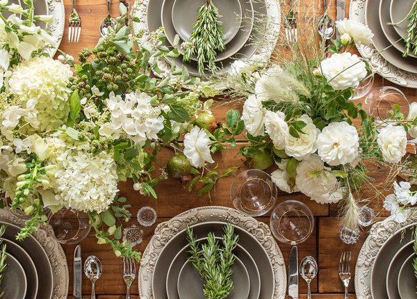 Wedding Reception Table Setting Decoration Ideas 32
