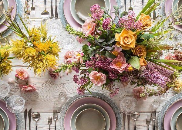 Wedding Reception Table Setting Decoration Ideas 33