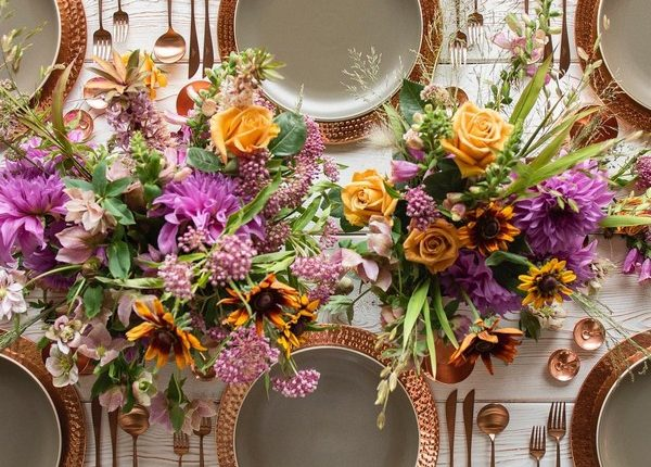 Wedding Reception Table Setting Decoration Ideas 34