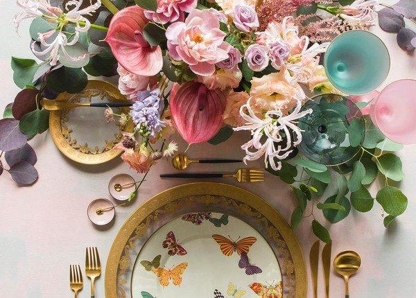 Wedding Reception Table Setting Decoration Ideas 36