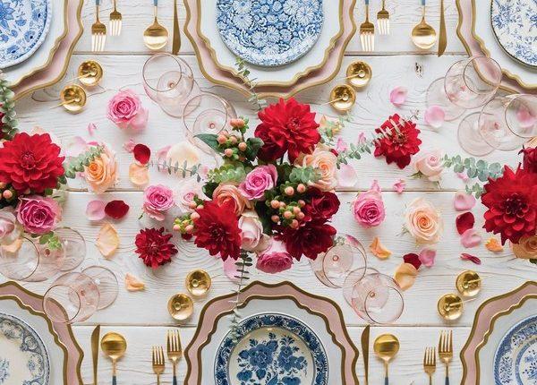 Wedding Reception Table Setting Decoration Ideas 5
