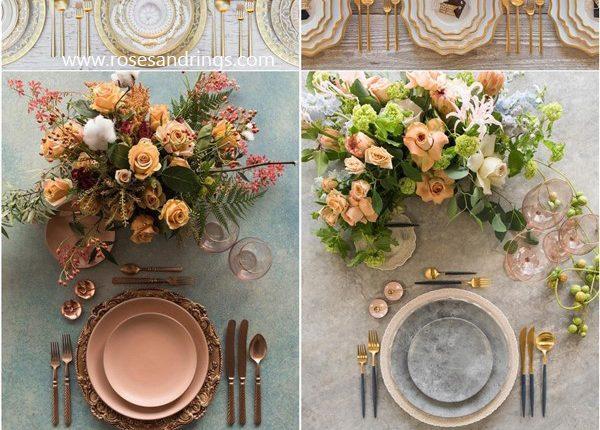 Wedding Reception Table Setting Decoration Ideas from Casadeperrin 2