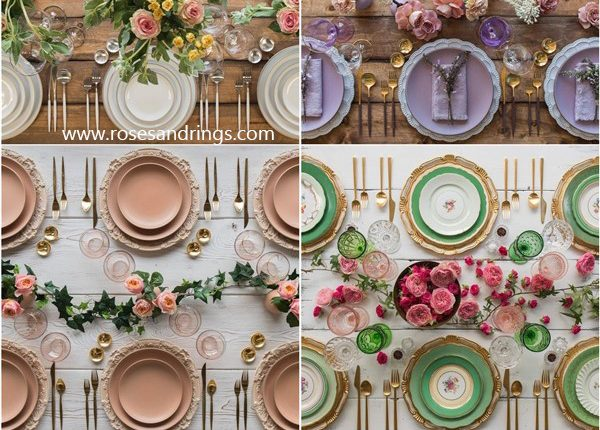 Wedding Reception Table Setting Decoration Ideas from Casadeperrin 4