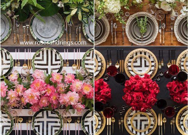 Wedding Reception Table Setting Decoration Ideas from Casadeperrin 5