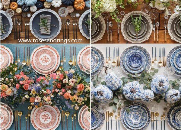 Wedding Reception Table Setting Decoration Ideas from Casadeperrin 6