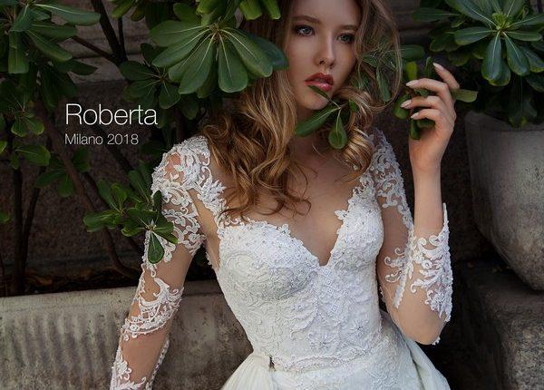 Long sleeve lace removable wedding dress ROBERTA2