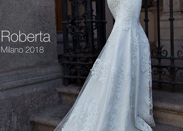 Long sleeve lace removable wedding dress ROBERTA5
