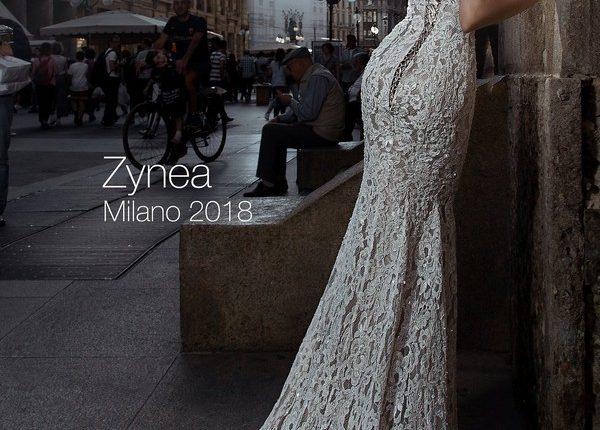 Mermaid lace wedding dress ZYNEA2