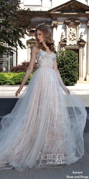 Princess ball gown lace wedding dress SYLVIA
