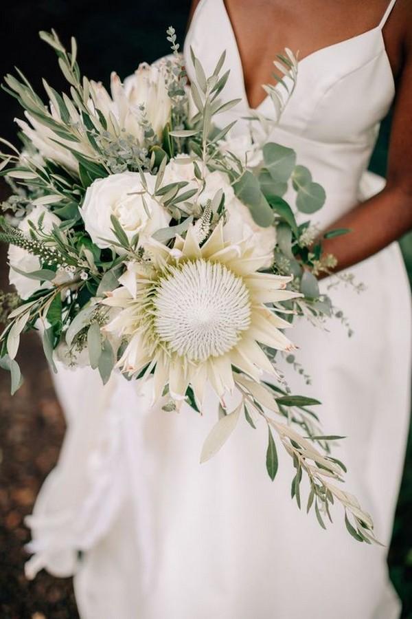 Bridal Protea Bouquet