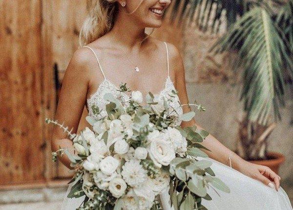 Sage Green Wedding Bouquet