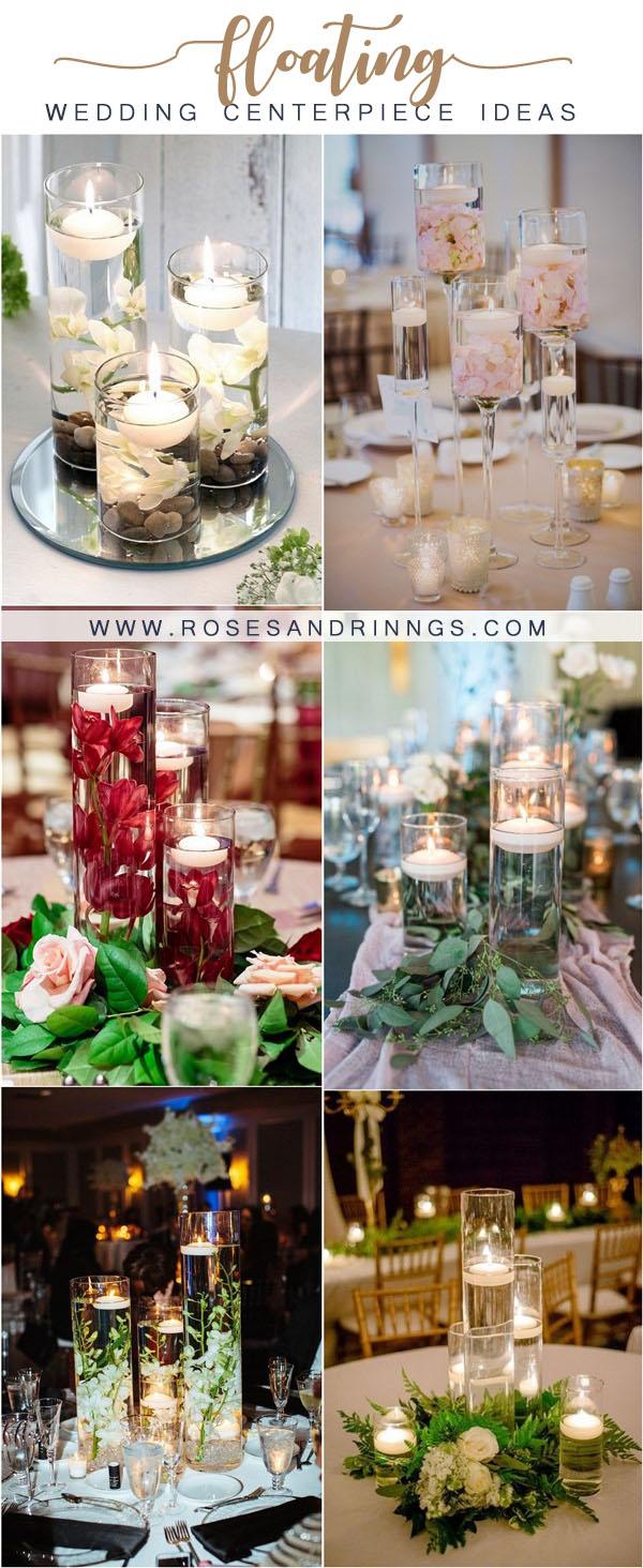 floating wedding centerpiece ideas