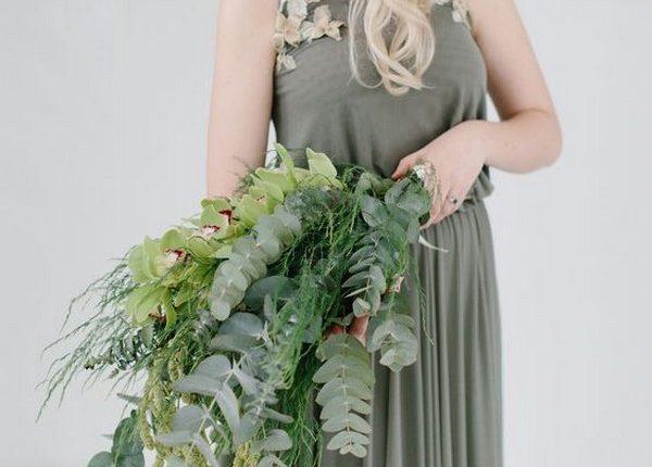 olive green bridesmaid dresses 4