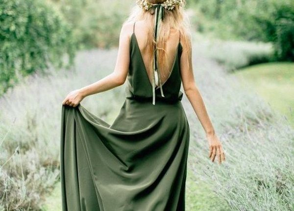 olive green bridesmaid dresses 5