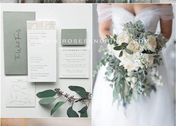 sage green wedding color ideas5