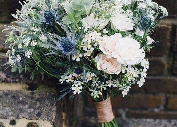 wildflower rustic wedding bouquets