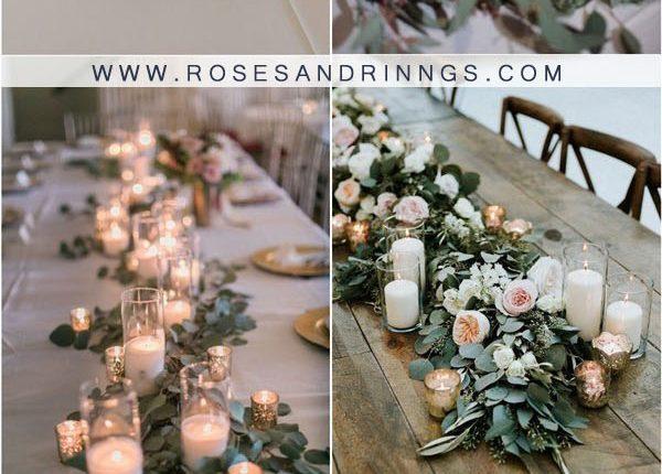 candles wedding centerpiece ideas1