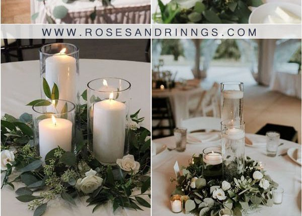 candles wedding centerpiece ideas2