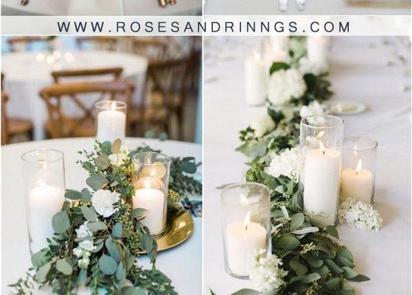 candles wedding centerpiece ideas3