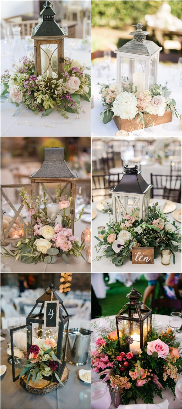 20 Rustic Lantern Wedding Centerpieces For 2020 Roses Rings