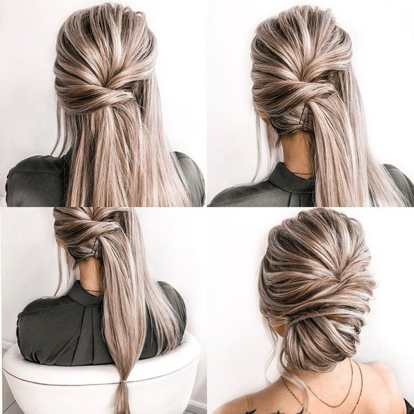 30+ Prom Wedding Hairstyle Tutorial for Long Hair | Roses ...
