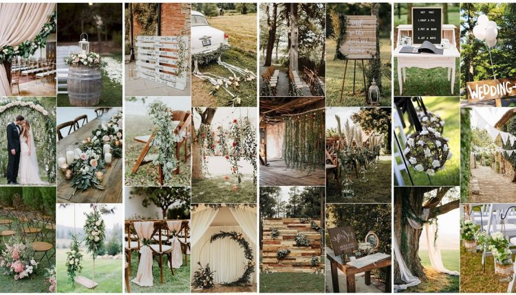 Outdoor Greenery Wedding Ideas for Spring