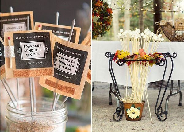 fun and intimate fall wedding ideas