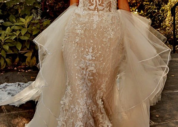 Eve of Milady Wedding Dresses 4389-Front-Train2