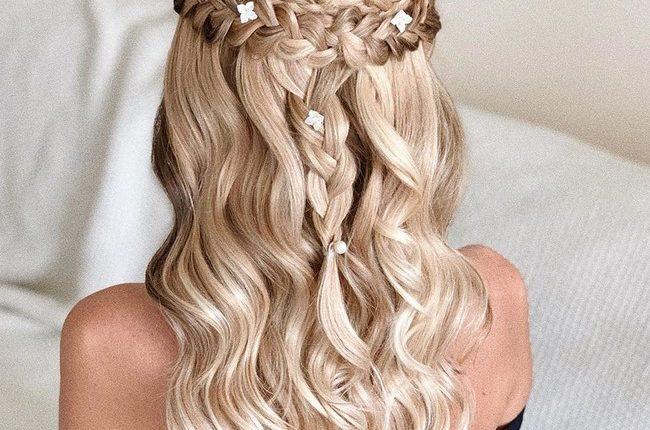Olga Hampshire Half Up Half Down Wedding Hairstyles 18