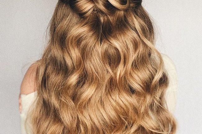 Olga Hampshire Half Up Half Down Wedding Hairstyles 21