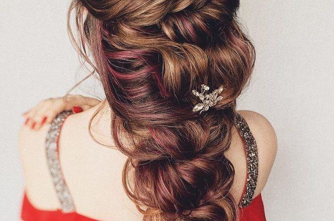 Olga Hampshire Half Up Half Down Wedding Hairstyles 22