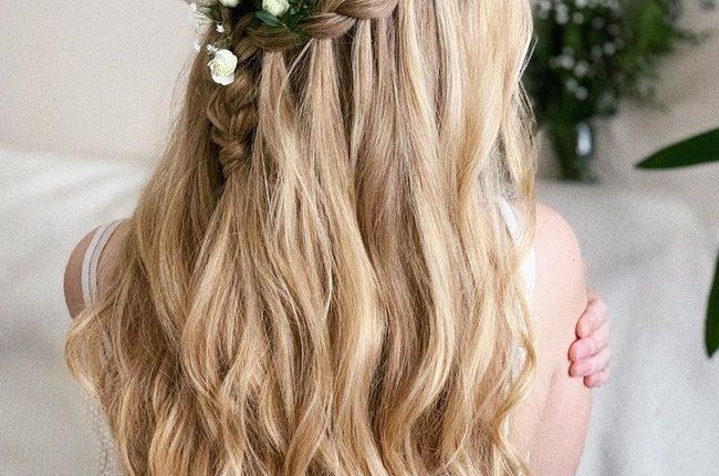 Olga Hampshire Half Up Half Down Wedding Hairstyles 23