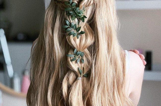 Olga Hampshire Half Up Half Down Wedding Hairstyles 24