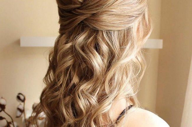 Olga Hampshire Half Up Half Down Wedding Hairstyles 26