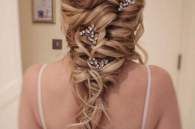 Olga Hampshire Half Up Half Down Wedding Hairstyles 27