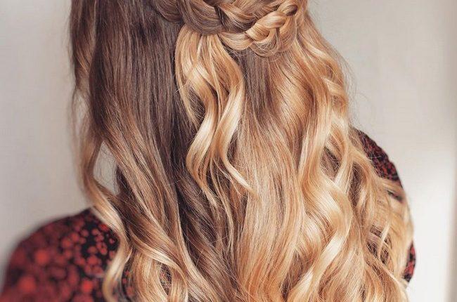 Olga Hampshire Half Up Half Down Wedding Hairstyles 28