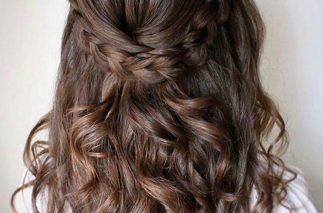 Olga Hampshire Half Up Half Down Wedding Hairstyles 29