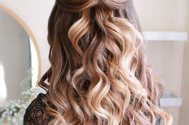 Olga Hampshire Half Up Half Down Wedding Hairstyles 30