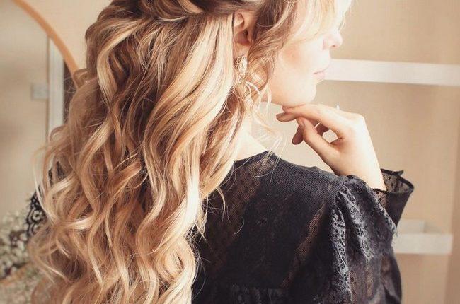 Olga Hampshire Half Up Half Down Wedding Hairstyles 32